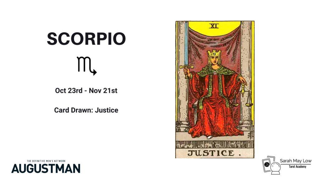 tarot cards scorpio
