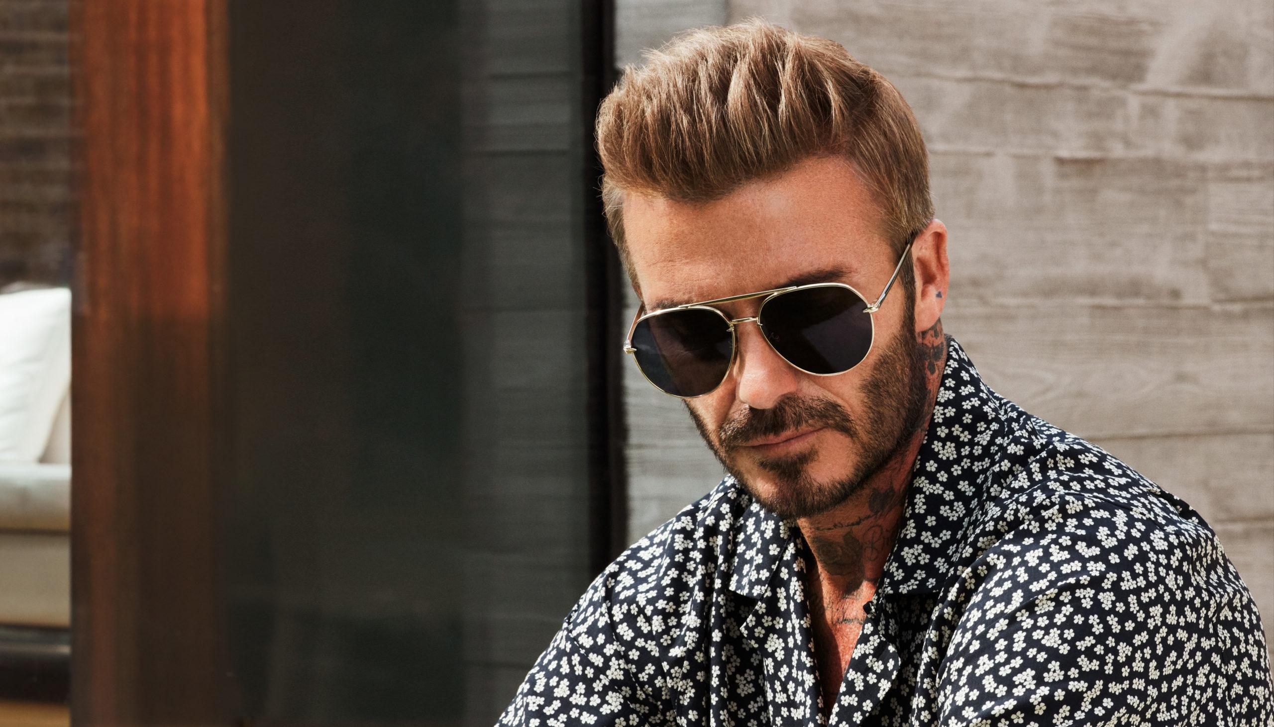 David Beckham Unveils The Spring/Summer 2021 DB Eyewear Collection