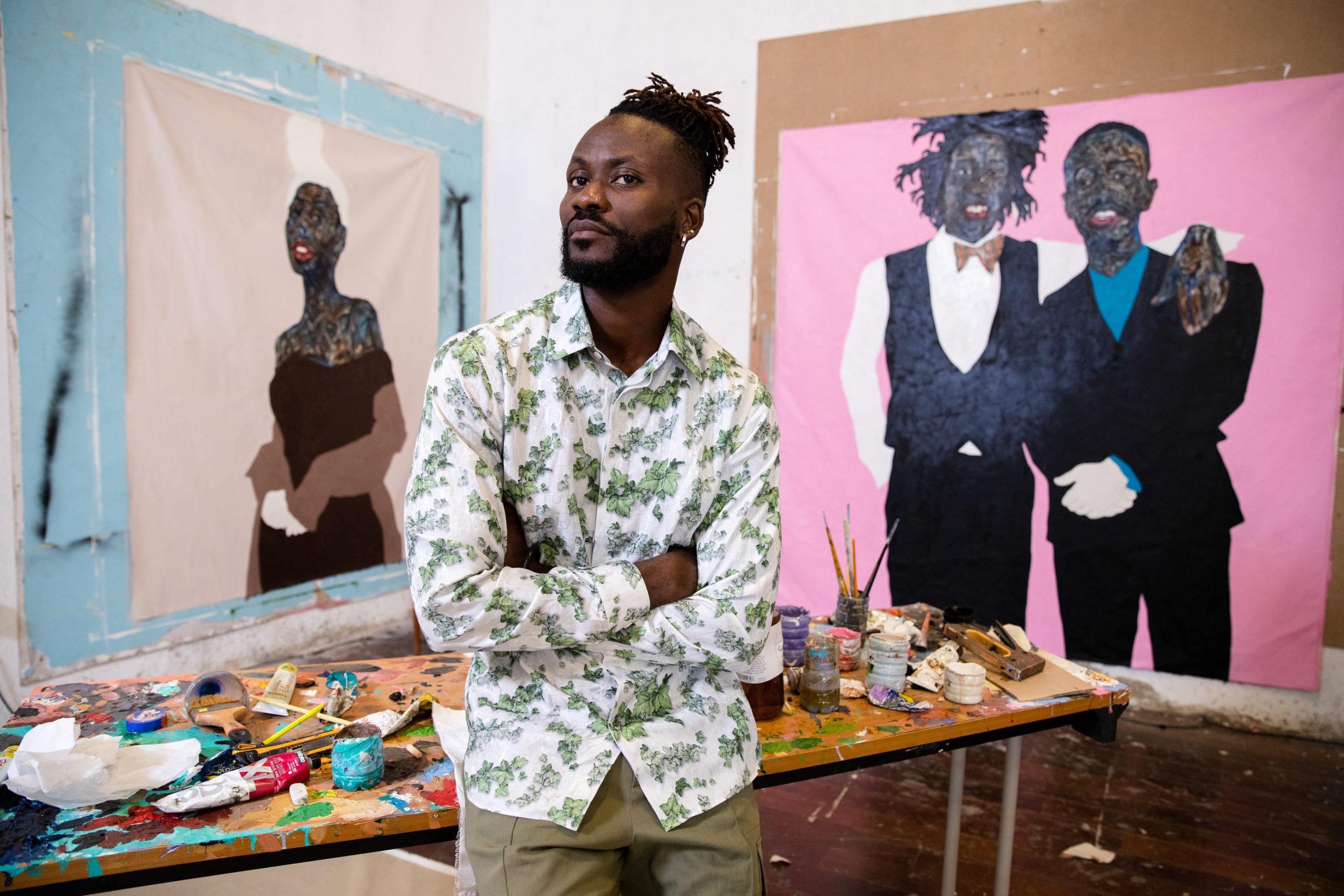 Dior Men Celebrates African Culture With Amoako Boafo