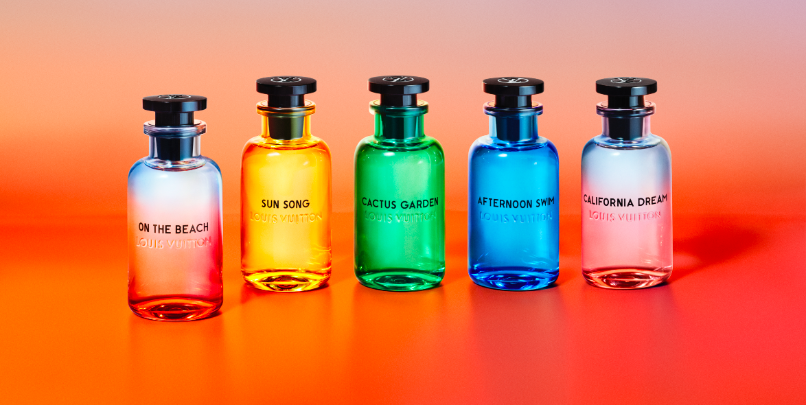 Louis Vuitton Introduces It's Fifth And Latest Fragrance – On The Beach