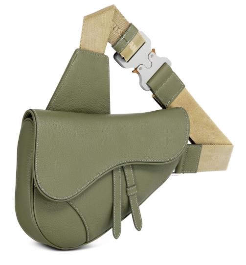 saddle bag khaki