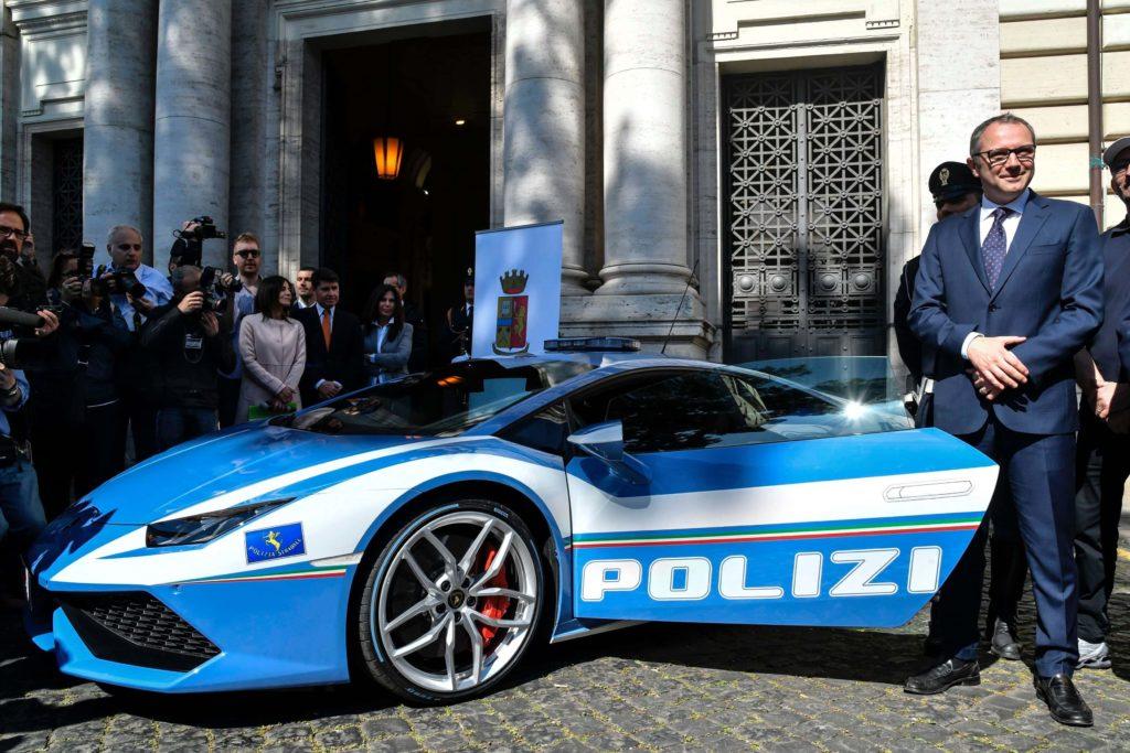 fanciest police cars around the world