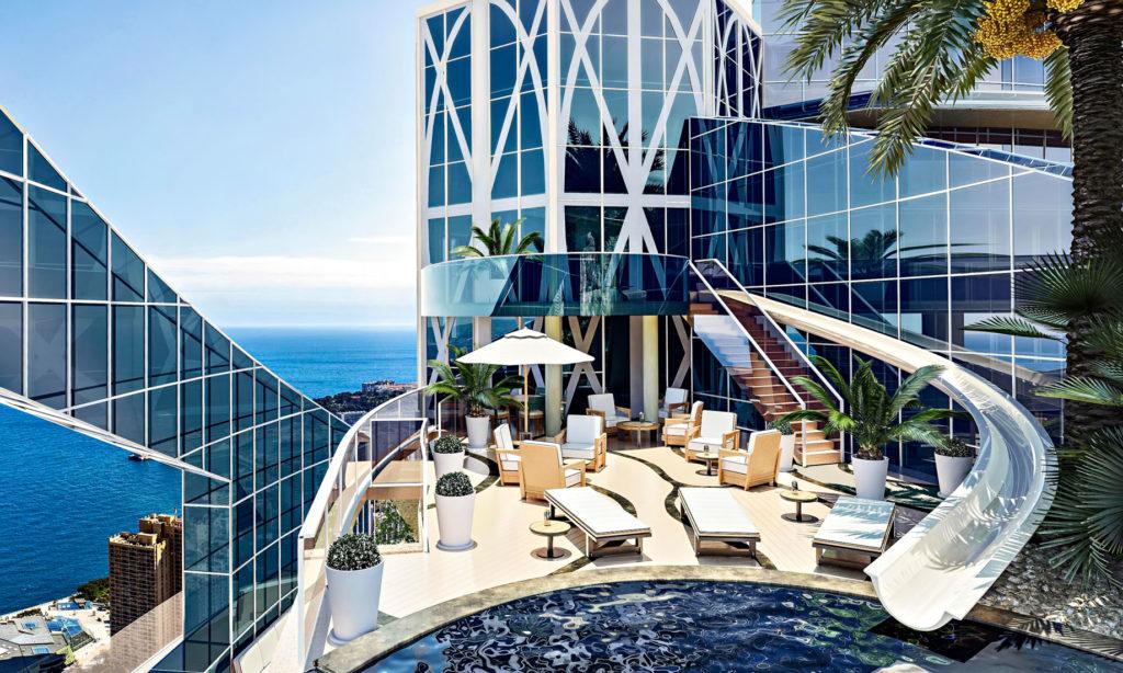 most extravagant penthouses