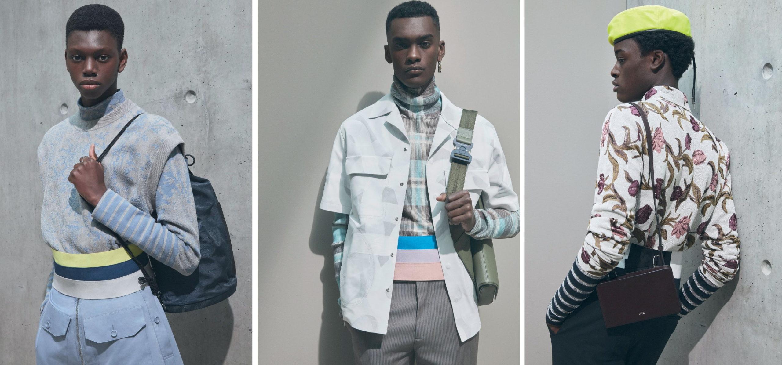 Dior Men's Summer 2021 Collection Is Kim Jones' Homage To Amoako Boafo