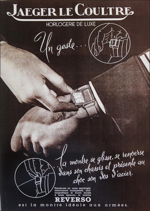 Jaeger-LeCoultre Reverso vintage ads