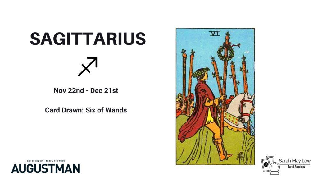 tarot cards sagittarius
