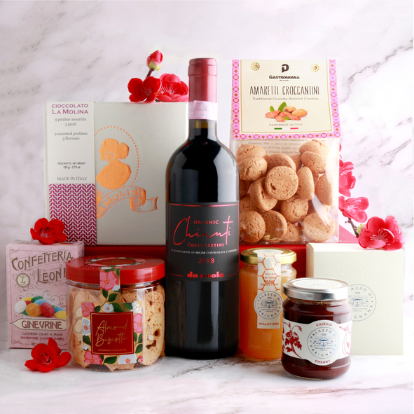 Chinese New Year goodies with an Italian twist