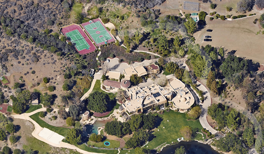 most googled homes