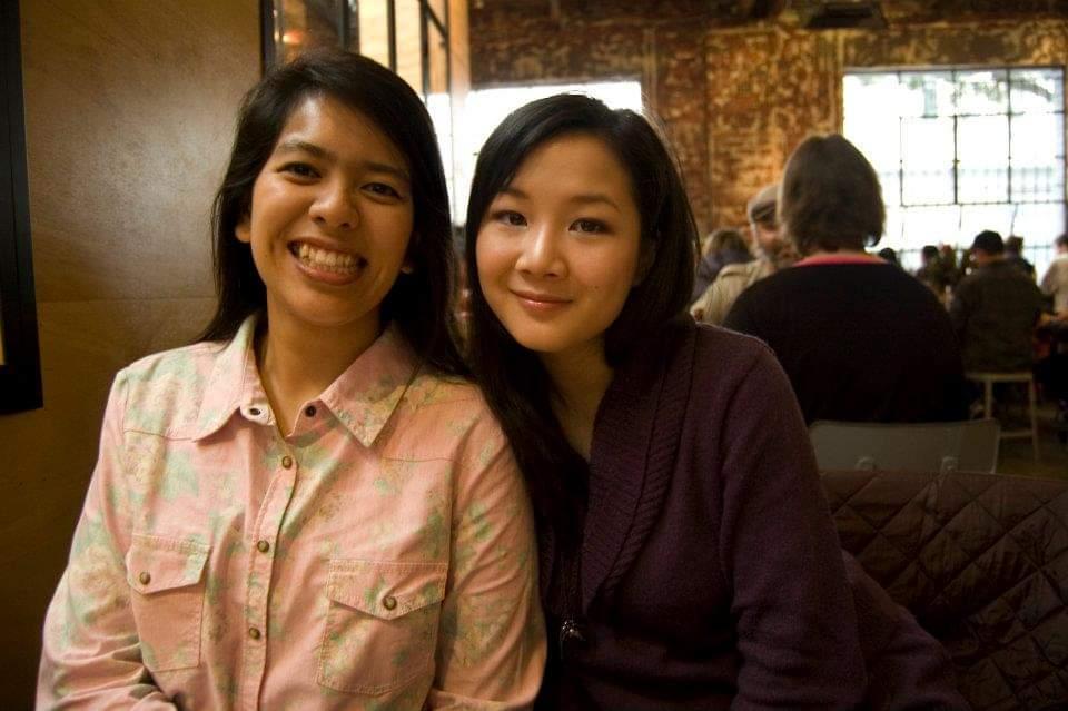 Adrihana and Emmalynn, co-founders of Bingka KL