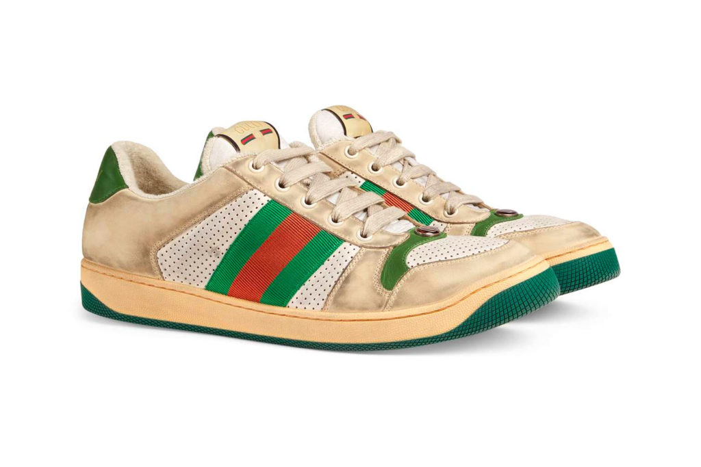 gucci dirty sneakers