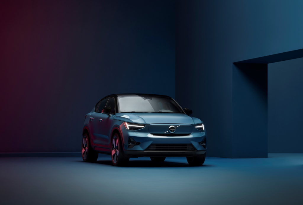all-electric volvo c40