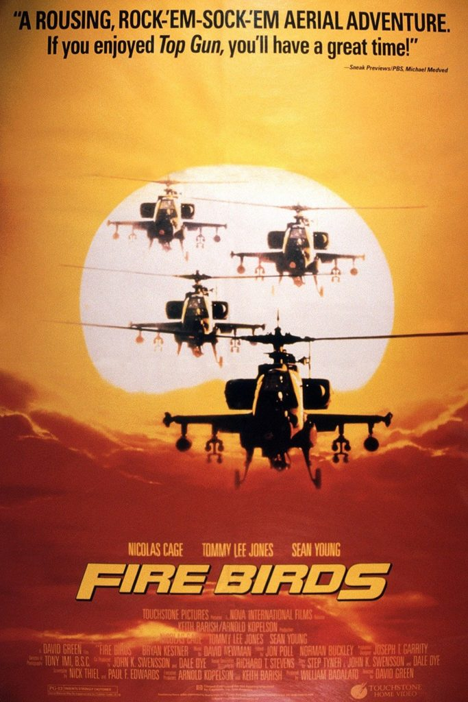 iconic helicopters in film fire birds